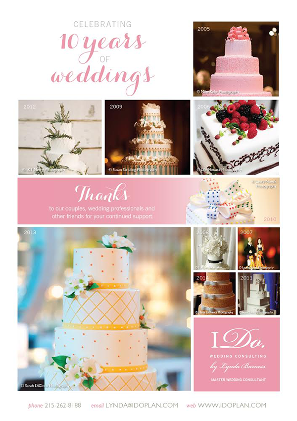 10 Years Of Wedding Consulting!