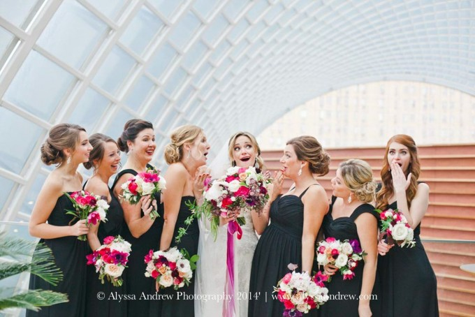 A Philadelphia Planner Gives Advice About Bridesmaids' Dresses