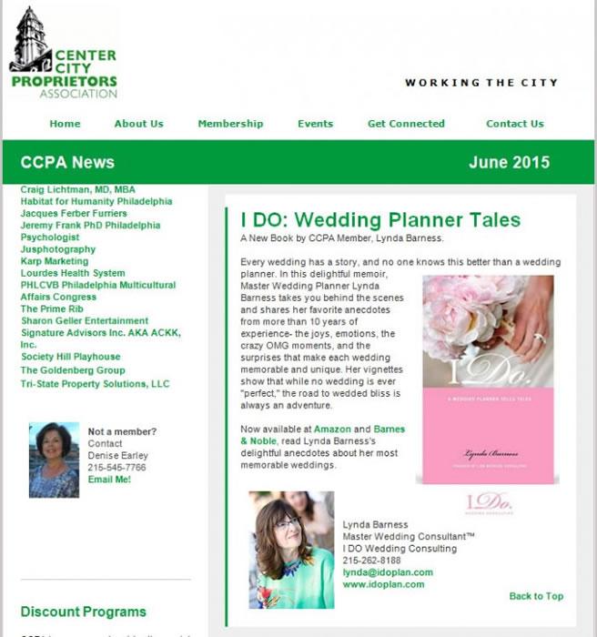 Center City Proprietors Association – June 2015 Newsletter