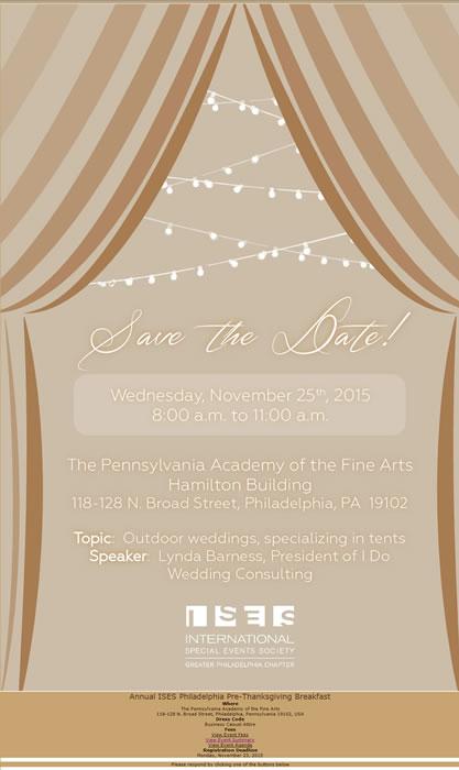 Annual ISES Philadelphia Pre-Thanksgiving Breakfast