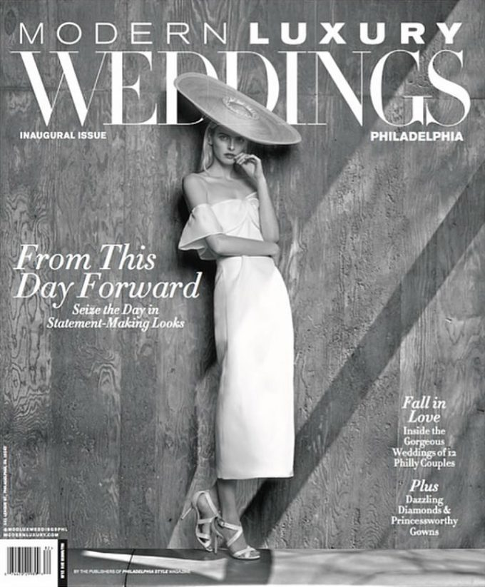 Modern Luxury Weddings Philadelphia – Inaugural Issue