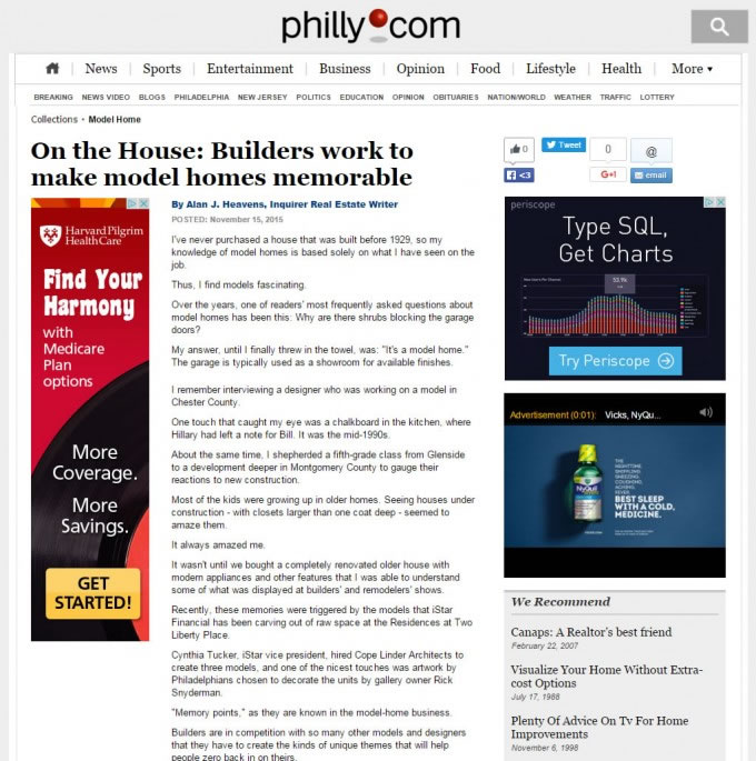 On The House – Builders Work To Make Model Homes Memorable