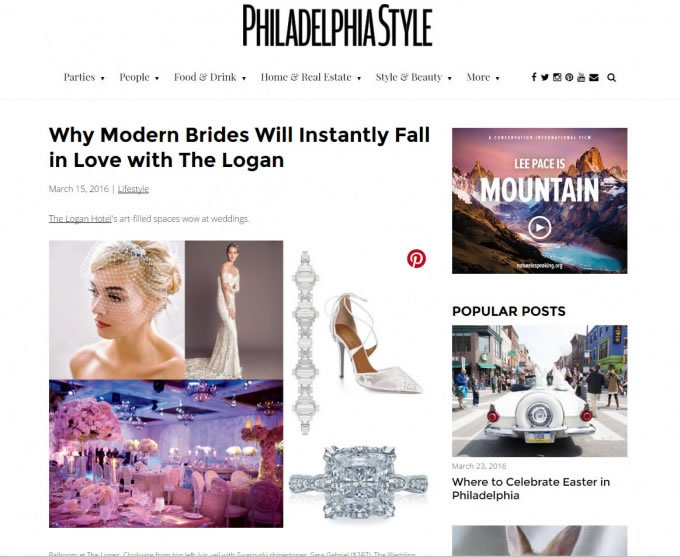 Philadelphia Style – Why Modern Brides Will Fall In Love With The Logan
