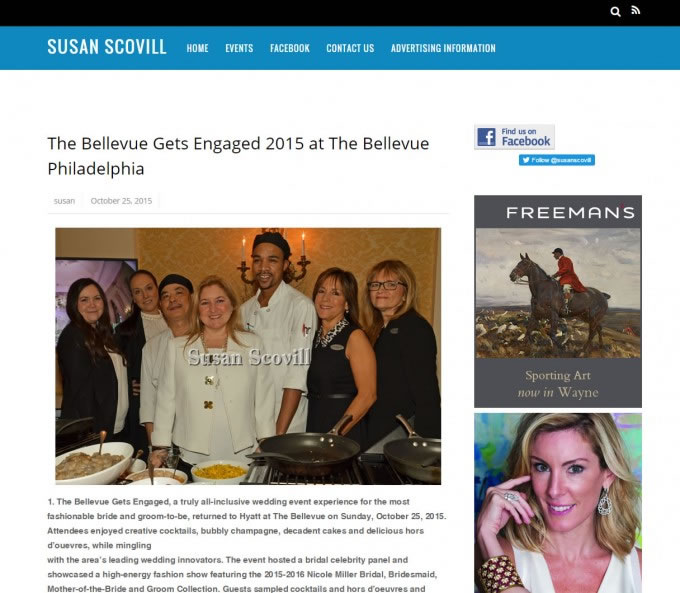 Susan Scovill – The Bellevue Gets Engaged