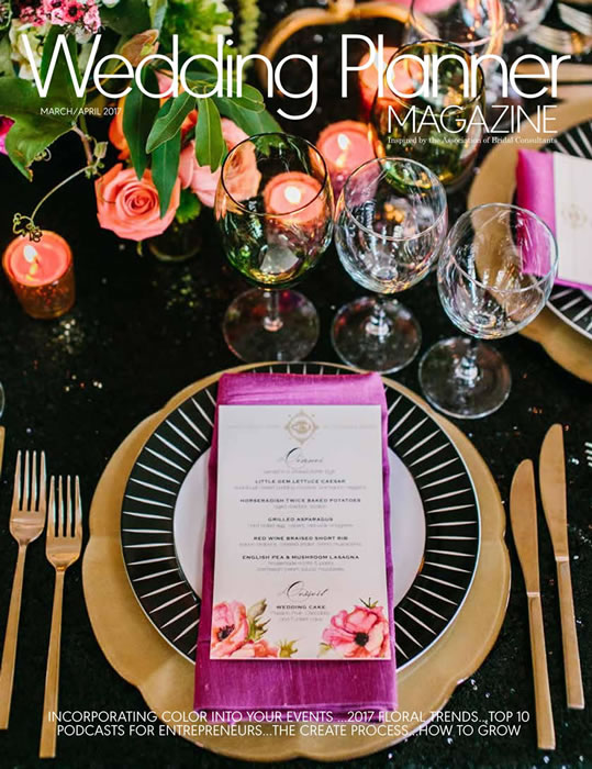 Wedding Planner Magazine March April 2017