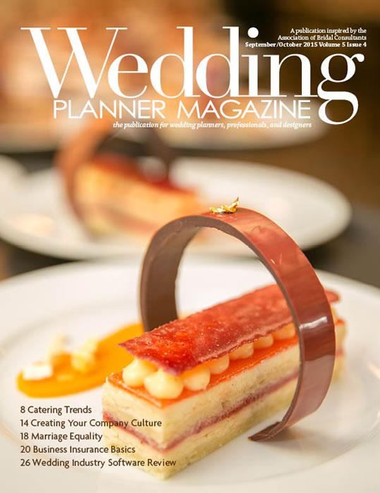 Wedding Planner Magazine – September/October 2015