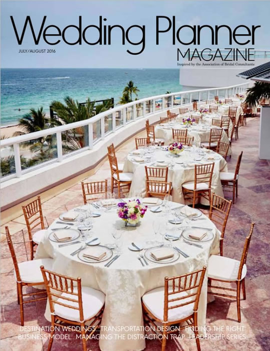 Wedding Plannner Mag July August 2016 Cover