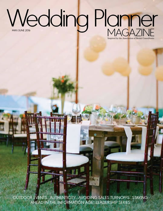 Wedding Planner Magazine – Real Wedding: Black, White, And Butterflies