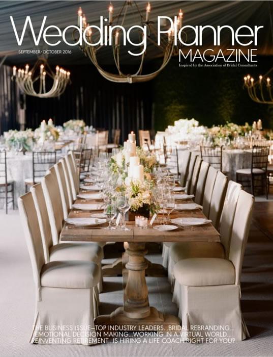 Wedding Plannner Mag September October 2016 Cover